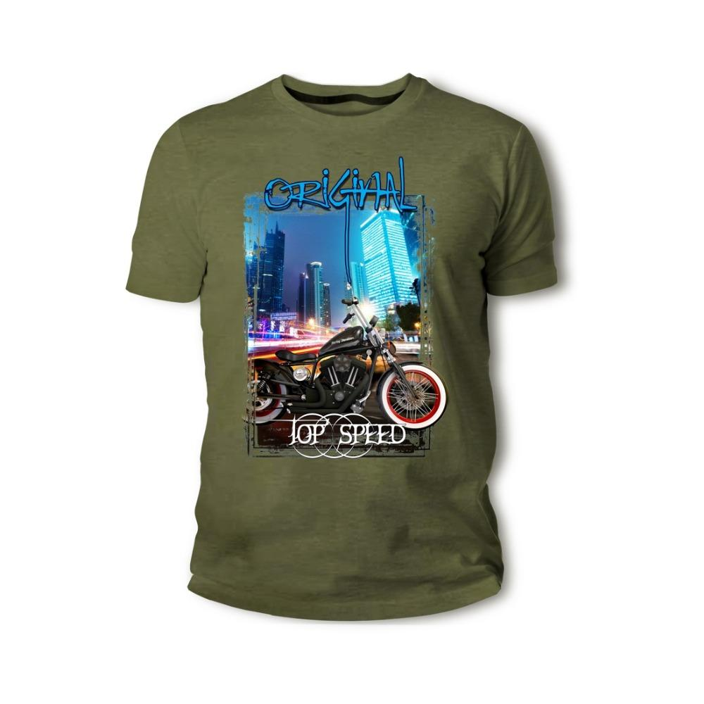 19fcda23e American Classic Legend Motorcycle Sportster 883 Old School Rockabilly 2018  Summer Men Hot Sale Clothes Custom T Shirts Online Random Funny T Shirts  Clever ...