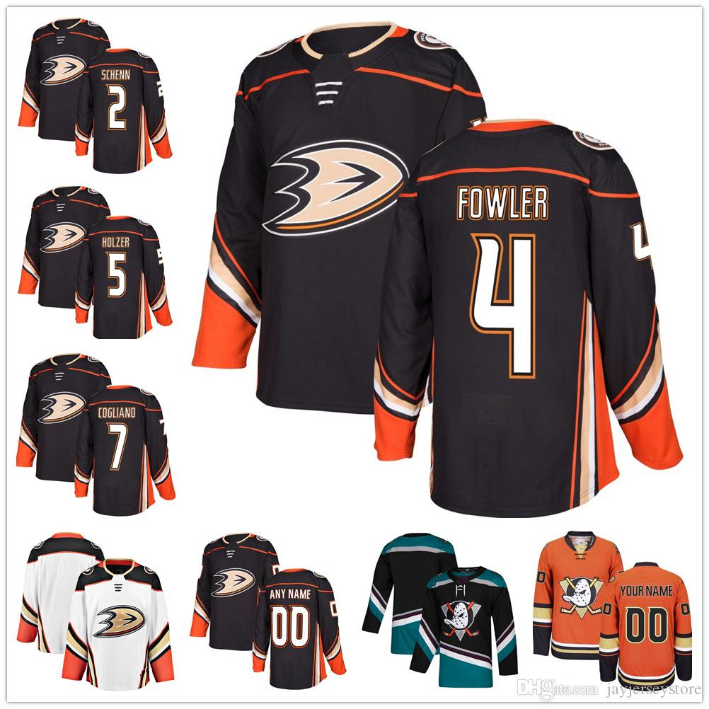 2019 Custom Ice Hockey Anaheim Ducks Jersey Men Women Youth Kid 2 Luke  Schenn 4 Cam Fowler 5 Korbinian Holzer 7 Andrew Cogliano From  Jayjerseystore 7c8493d52