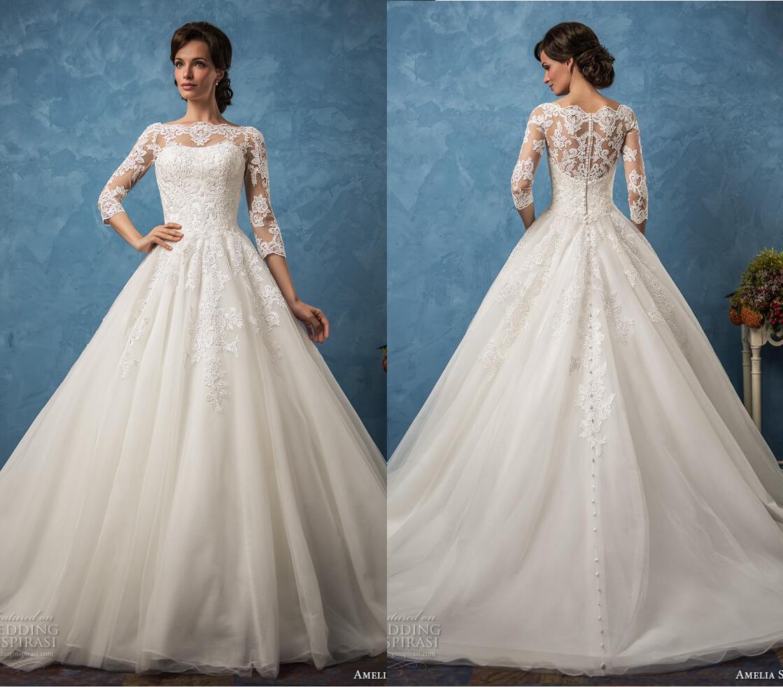 Lovely Sposa Vestidos De Novia Images - Wedding Ideas - memiocall.com