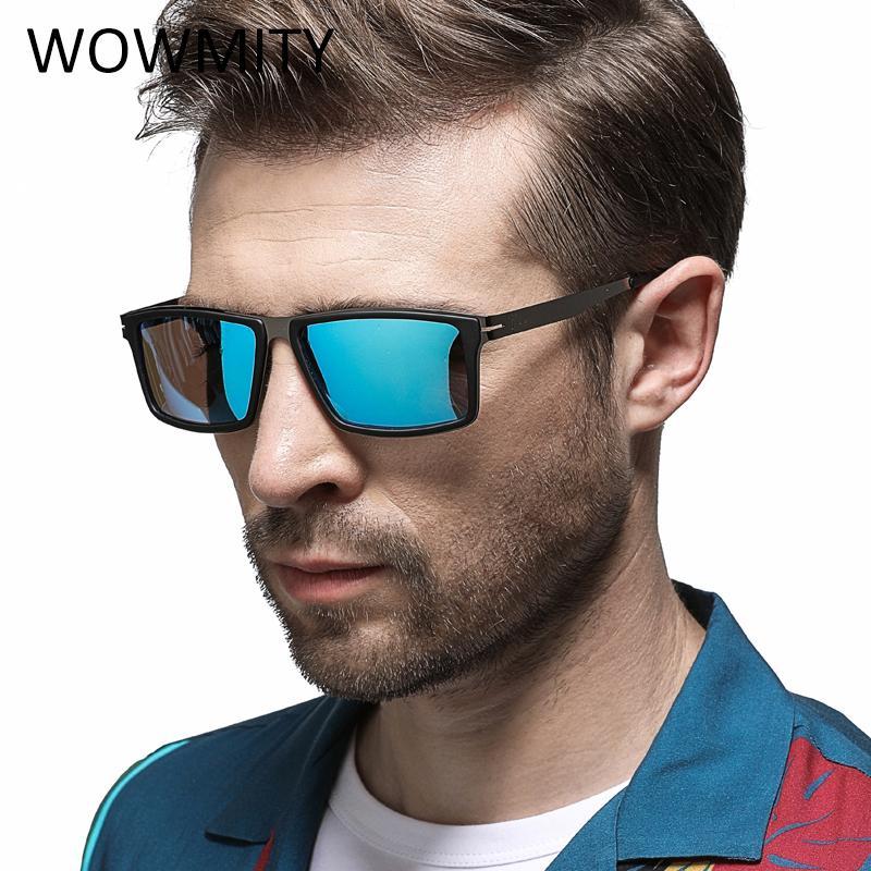 eba8cf9d20ca7 Compre Polarizada Óculos De Sol Dos Homens Aviação Condução Tons Masculinos  Óculos De Sol Para Homens Retro Barato 2018 Designer De Marca De Luxo Oculos  De ...