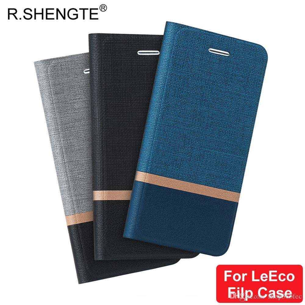 sports shoes 14842 b2ef8 MOQ 1PCS PU Leather Flip Case For Letv LeEco Le 2 S3 Le Max 2 Wallet Phone  Cover With Card Slot Kickstand