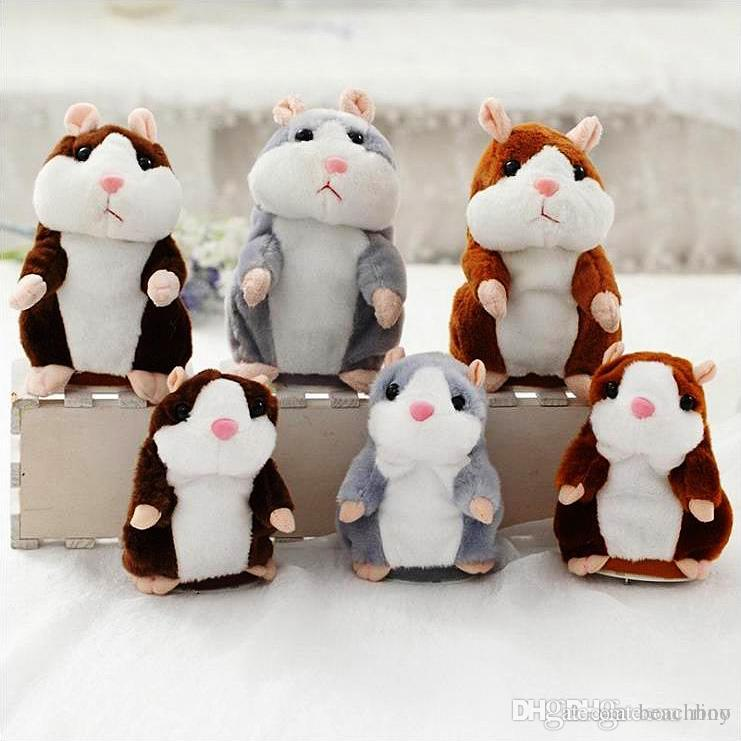 Großhandel Sprechen Hamster Plüsch Baby Spielzeug Weihnachtsgeschenk ...