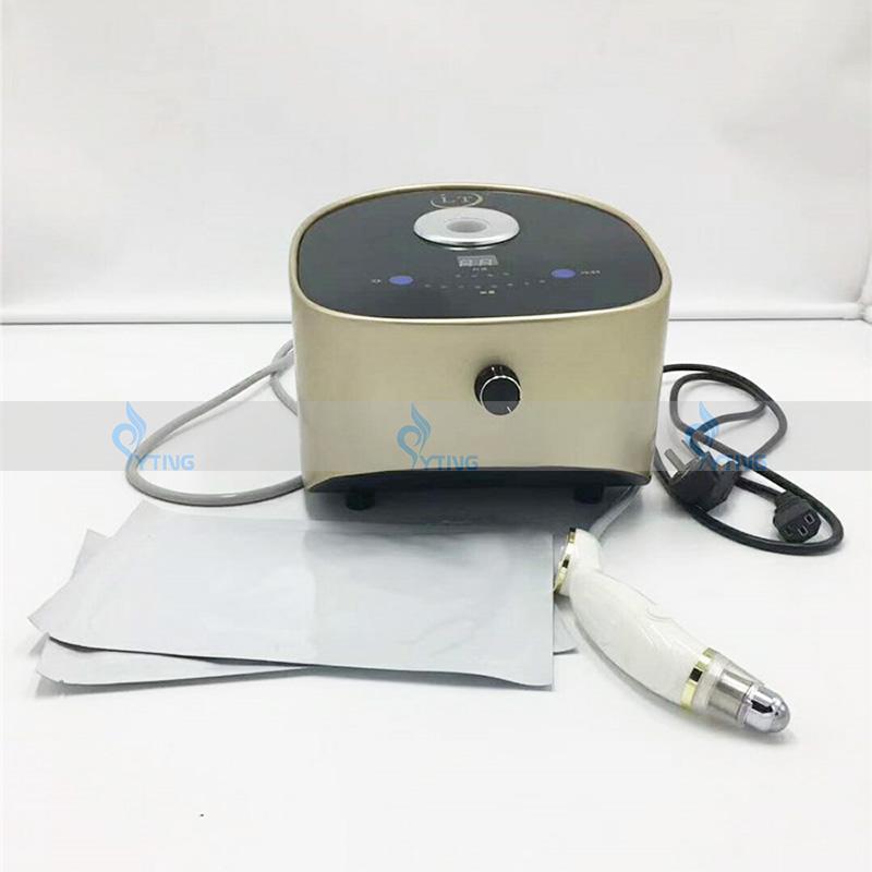 Portable radiofréquence yeux poche cercles sombres enlèvement monopolaire visage masseur machine anti-vieillissement équipement