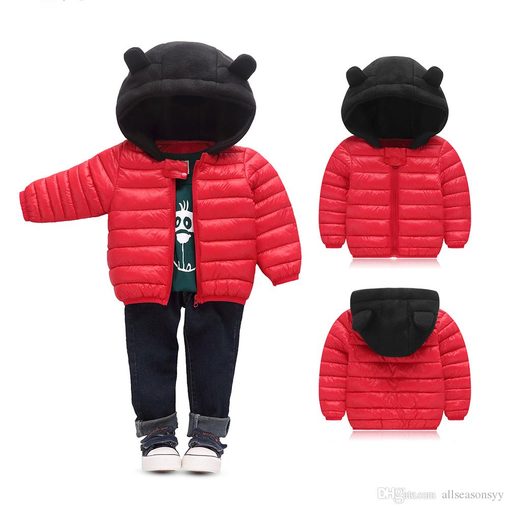1bd370f8a9c3 Winter Baby Snowear Down Puffer Jacket For Boy Children Clothing ...