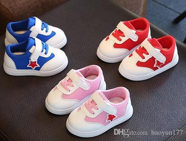 New Spring Infant School Children S Casual Shoes Men And Women Baby Shoes  Soft Bottom Breathable Shoes Boys Shoe Shoes For Girls Online From  Xiatiandefeng00 ... 2d17f5653c
