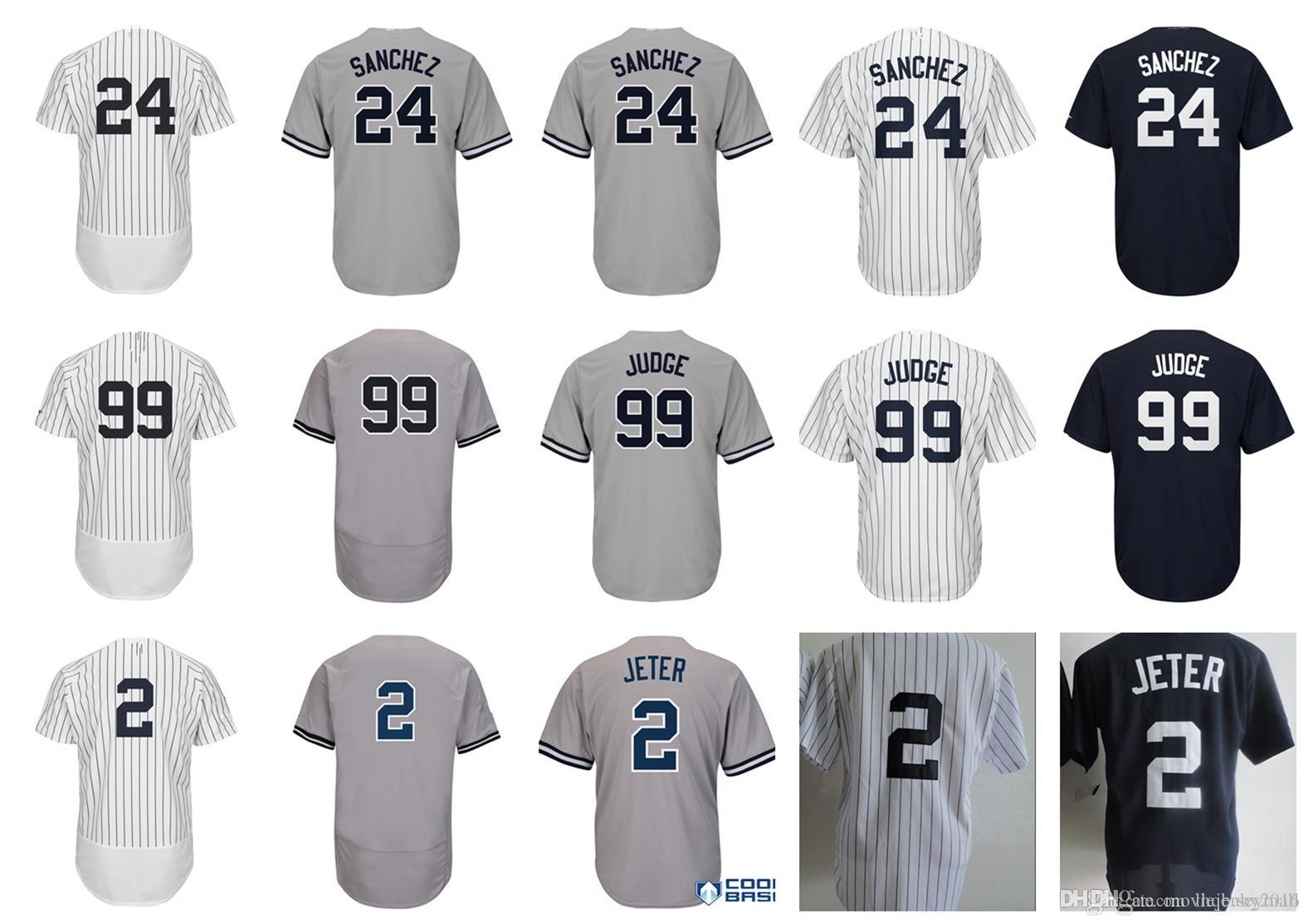 New York 99 Aaron Judge Jersey 24 Gary Sanchez 7 Mickey Mantle All ... 1d0c8d78c1b