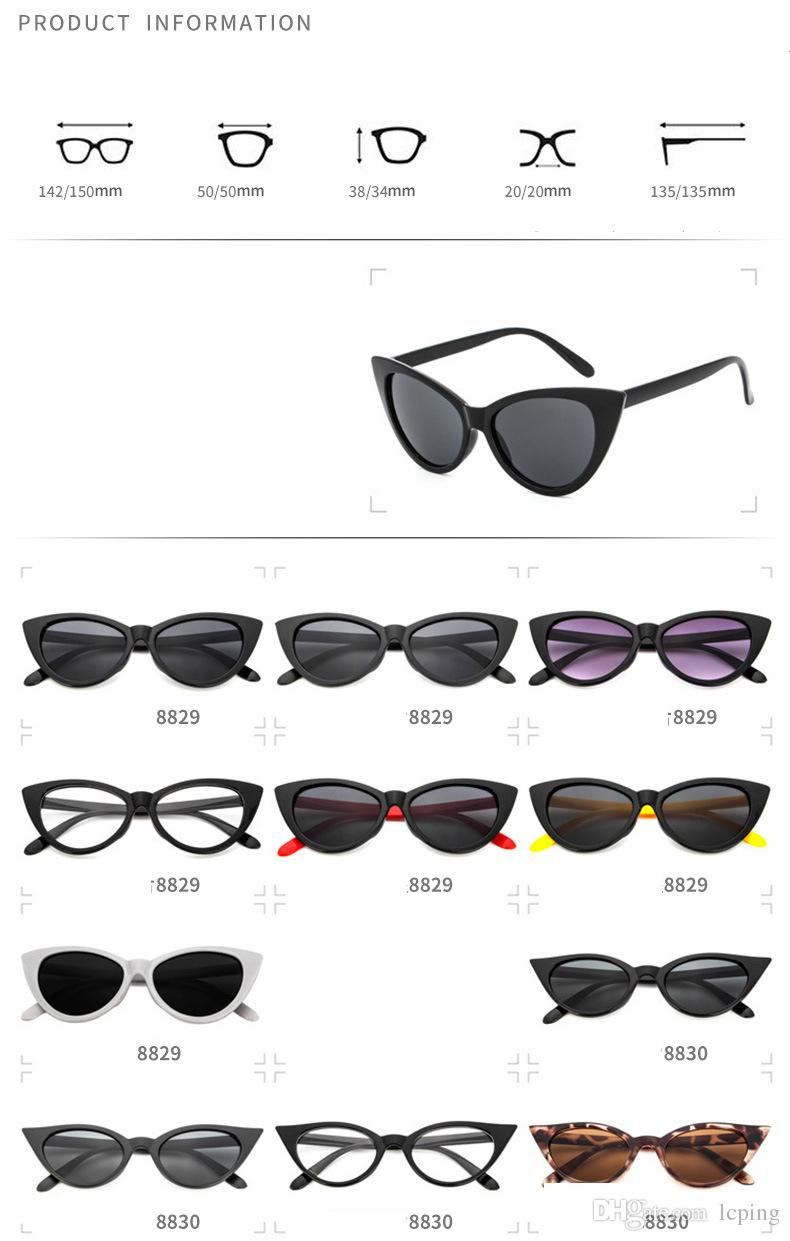 good quality Europe and US Cat Eye Sunglasses for Men and Women Outdoor Sport Cycling Sun Glass Eyewear Brand Designer fashiong Sunglasses