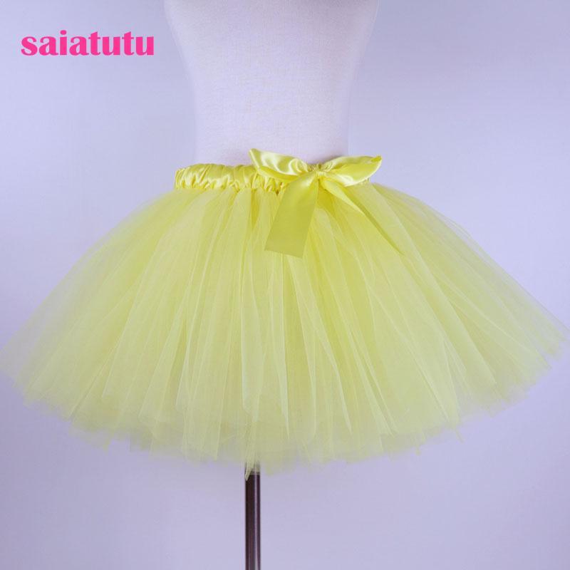 saphir bleu royal tulle enfants enfants tutu fille jupe enfant en bas âge bébé costume robe de bal danse de mariage courte pettiskirt