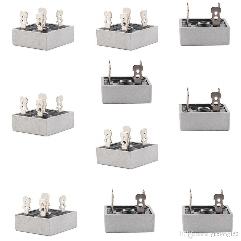 Kbpc2504 Bridge Rectifier Diode 25a 400v Kbpc Single Phase Full Wave Circuit With Averaging Filter Pictures 25 Amp 400 Volt Electronic Silicon Diodes 10 Pack Ac Dc