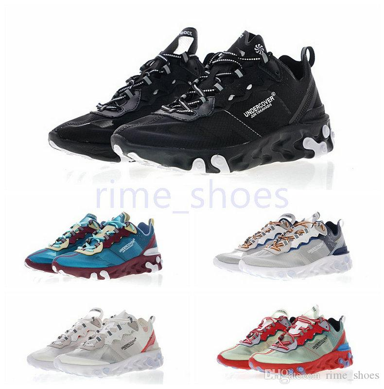 4df043b021af UNDERCOVER X Upcoming React Element 87 Reactive Element Semi Transparent  Series Avant Garde Running Shoes 36 45 Mens Trail Running Shoes Jogging  Shoes From ...