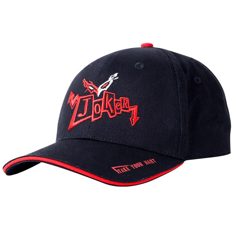 MGF Unique Anime Game Persona 5 Related Canvas Baseball Cap Hat Adjustable  P5 Joker Logo Cosplay Handmade Embroidery Sports Cheap Snapback Hats Hats  Online ... 4a891526535