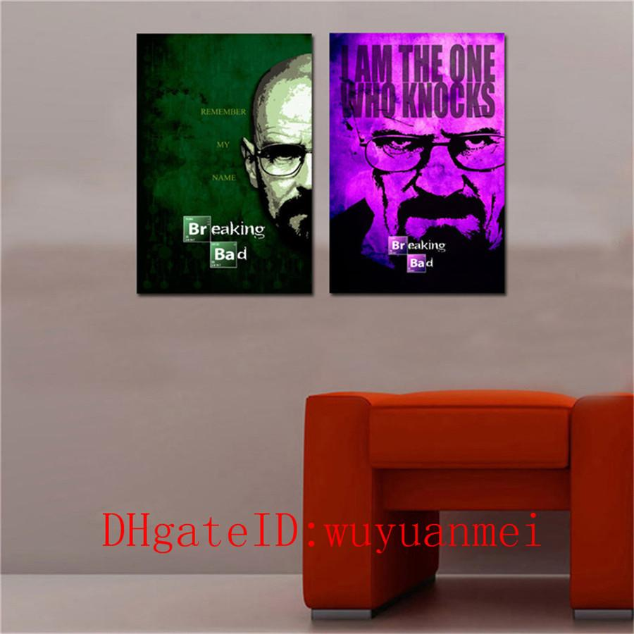 2019 Breaking Bad Home Decor HD Printed Modern Art Painting On Canvas Unframed Framed From Wuyuanmei 1282