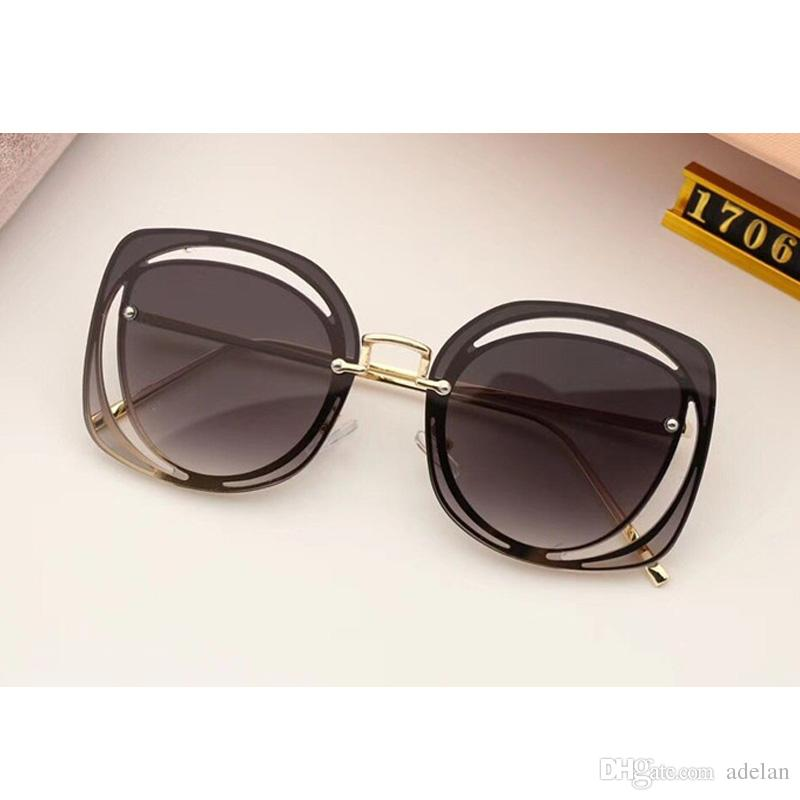 a8d14204558 2018 Summer Lady Luxury Brand Designer Sunglasses Women Fashion with ...
