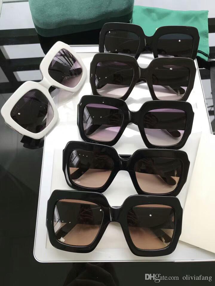 Compre 2018 NEWEST Luxo Mulheres Óculos De Sol De Tamanho Grande Moldura  Completa Óculos De Proteção UV Bling Bling Espetáculo Quadro ESTRELA POP  Elegante ... e9d8047d77