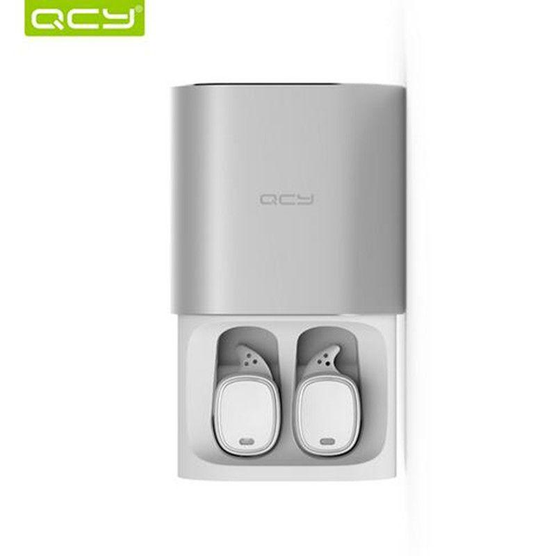 earbuds tws pro t1 qcy bluetooth headphones cancelling microphone earphones handsfree noise calls wireless 3d