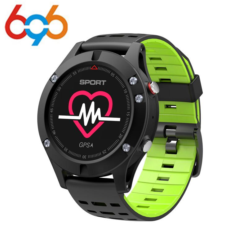 696 No.1 F5 GPS Smart Sport Watch Altimeter Barometer Thermometer 4.2 Smartwatch Wearable devices for iOS Android Phon