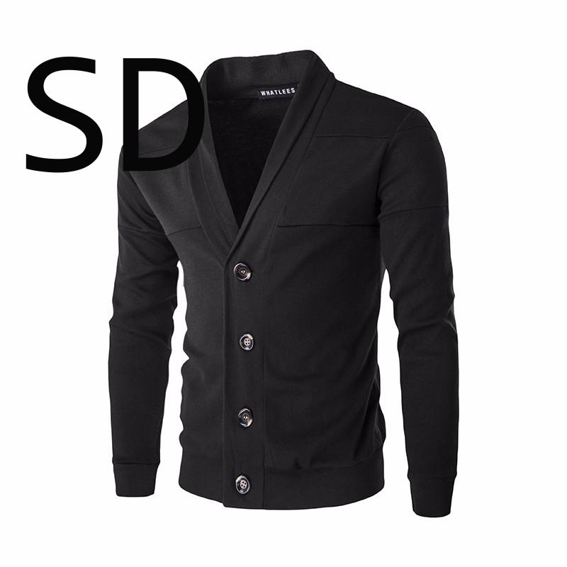 Acheter Dropshipping New Men  s Sweater Mode Solide Unique Cardigan Aux  Seins Hommes Chandail Manteau Noir Marine Rouge Gris Foncé 2xl Manteaux De   34.72 Du ... 25aea6ce8e63