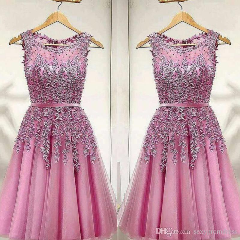 Partykleid kurz pink