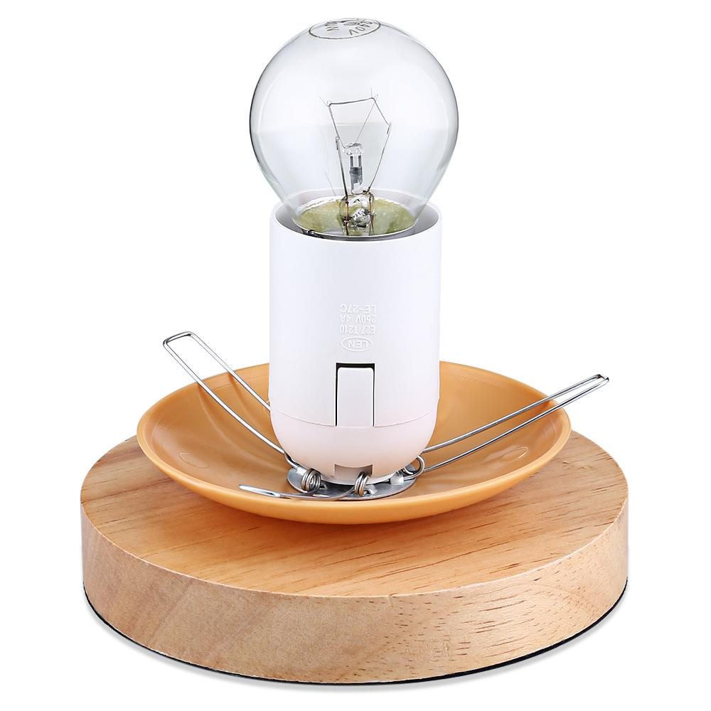 Wicker Rattan Ball Desk Table Lamp Diameter 17cm Takraw Night Light For Bedroom Living Room USB Plug Indoor Lighting