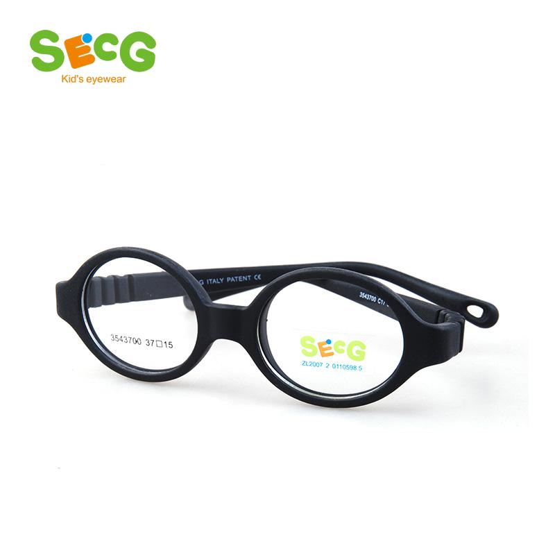 7526577df7 2019 SECG Round Flexible Optical Children Glasses Plastic Frame Unisex TR90  Kids Glasses Myopia For Sight Kids Eyewear Spectacles From Pickled