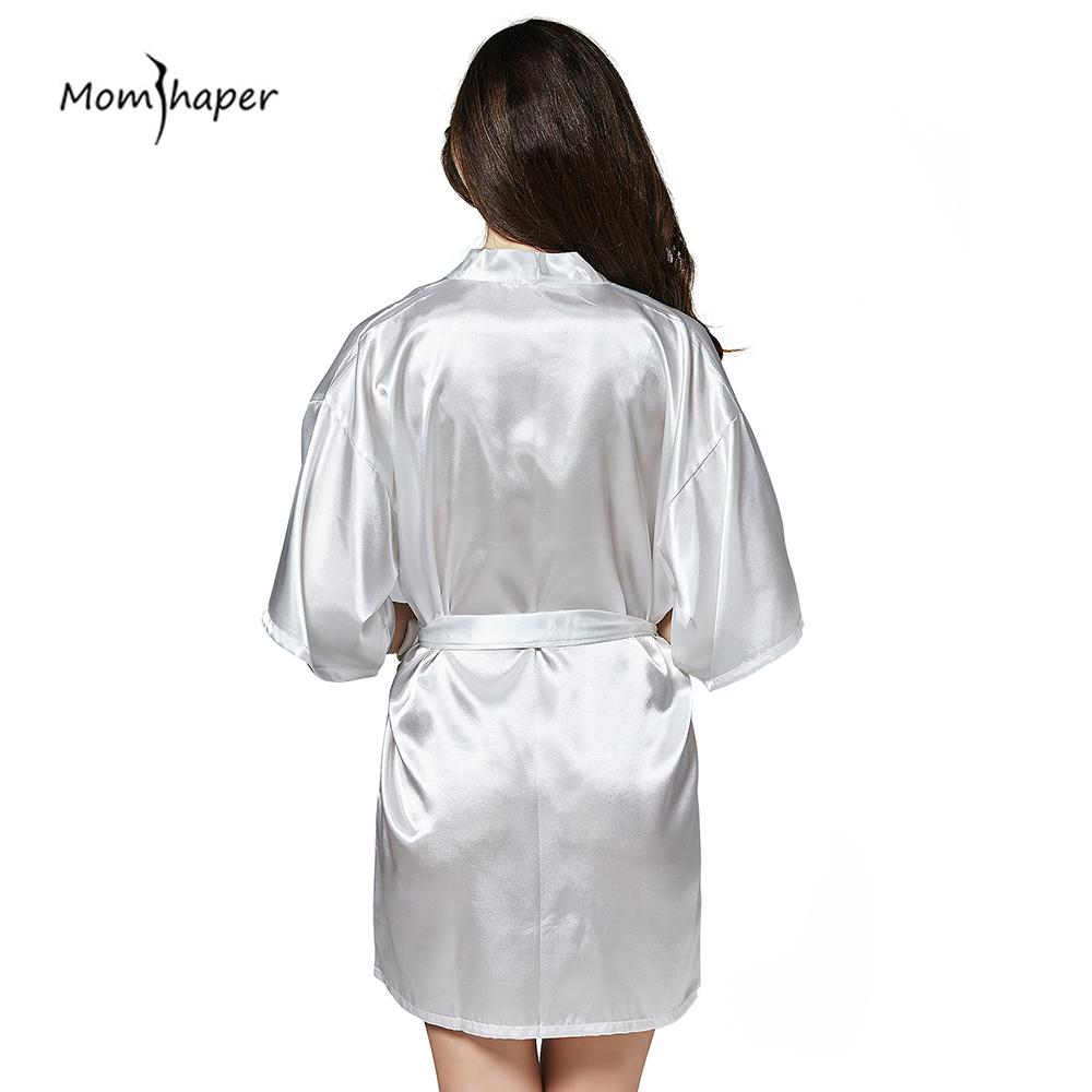 Robe Silk Bridesmaid Bride Robe Sexy Women Sleepwear Night Dress ... 43d53005f