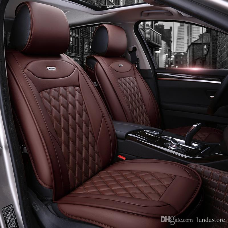 Luxury PU Leather Car Seat Covers For Hyundai Ix35 I30 Ix25 Elantra Tucson Sonata Auto Accessories Styling Fitted