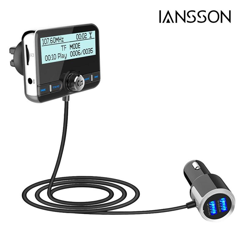 Topp 2019 DBA002 Car DAB Digital Radio FM Transmitter Bluetooth VS-36