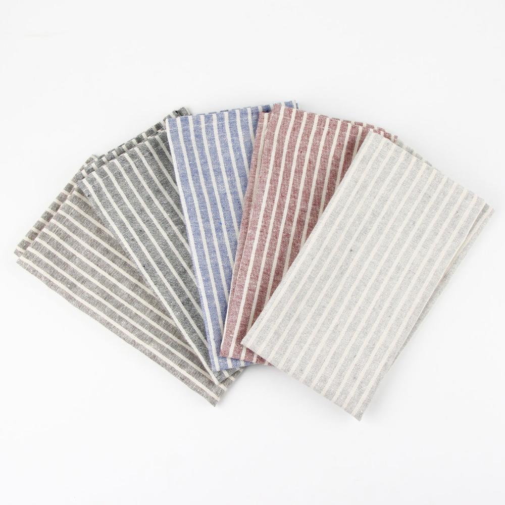 30 x 40 cm Fashion cloth Napkins cotton linen heat insulation mat dining  table mat children table Napkin fabric placemats