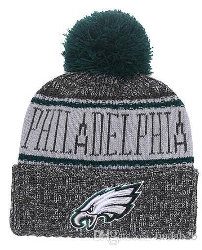 6e03f5b9264cb 2019 2019 Team Philadelphia Beanies Champions Caps Pom Hat Men Women 32  Teams All Caps Knitted Hat Top Quality Hat More 5000+Styles From Lindab2b