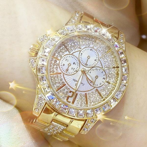 Etwas Neues genug Großhandel Mode Frauen Quarz Uhren Strass Diamant Casual #ZO_68