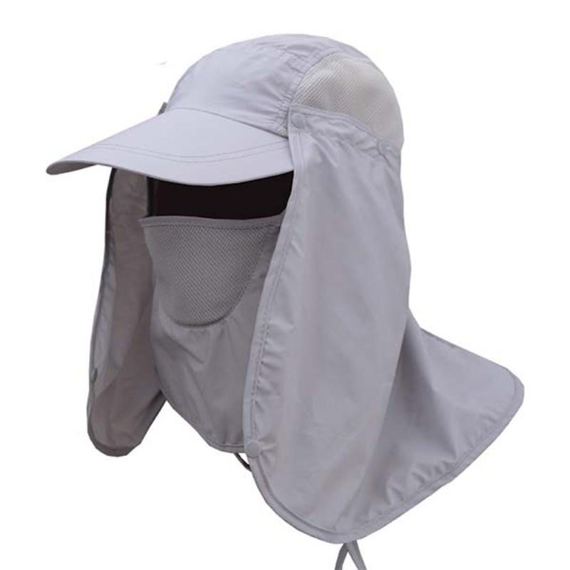 1a7a1aad57735 2019 Summer Protective Chapeu Feminino Neck Cover Ear Flap UV Protection  Men Women Sun Hats From Binfeng168