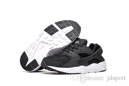 the latest b7df4 2961b Huarache Sneakers Big Kids Boys and girls Colorful Black White Huarache  Blue Running Shoes Sneakers Triple Huaraches Athletic Sports Shoes