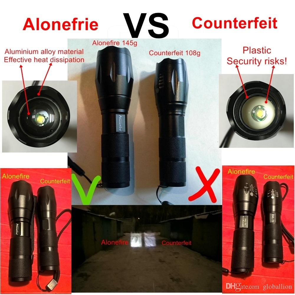 AloneFire E17 G700 XM-L T6 5000LM Bicycle Zoomable CREE LED Flashlight Torch Bike light lamp for 18650 Rechargeable Battery AAA