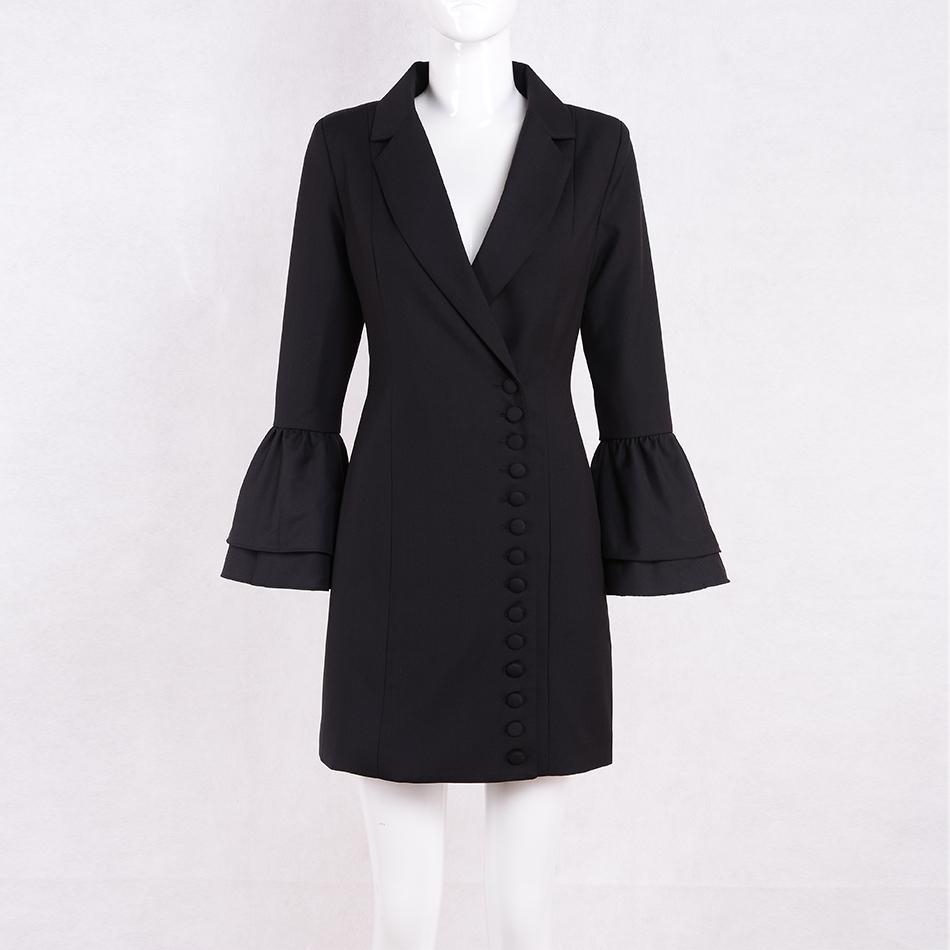 Seamyla 2018 новый белый черный зарезанный тонкий пиджаки высококачественные вспышки рукава одиночные погружные женские куртки лето вскользь износа