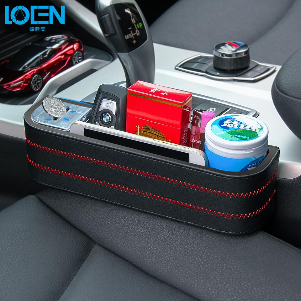 Wholesale Car Seat Crevice Storage Box Cup Drink Holder Organizer Auto Gap Pocket Stowing Tidying For Phone Pad Card Coin Case Desk