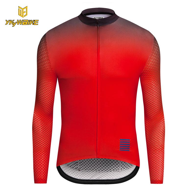 9b942736f YKYWBIKE 2018 Pro Long Sleeve Cycling Jerseys Mountain Bike Clothing High  Quality Breathable Bicycle Clothes Wear Ropa Ciclismo 2018 Pro Long Sleeve  Cycling ...
