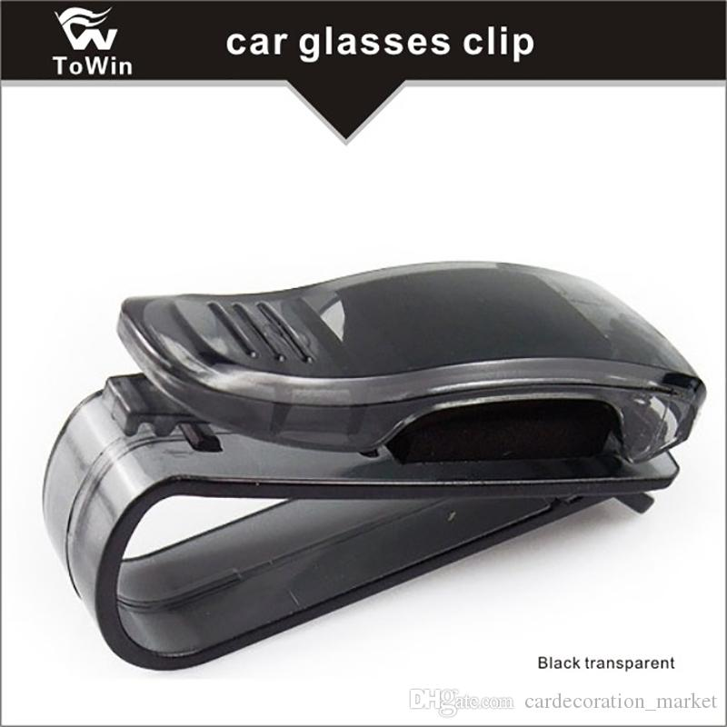 6deb0ebf9be 2019 Car Sun Car Visor Glasses Sunglasses Ticket Clip Holder Eyeglasses  Clip Car Auto Vehicle Sun Visor Mount Eyeglasses Sunglasses Card Holder  From ...