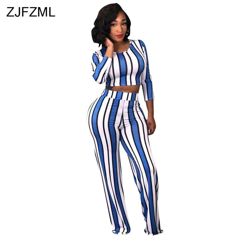 Azul Sexy Zjfzml Verticales Conjunto De 2 Rayas Blanco Compre Piezas Uw645q4