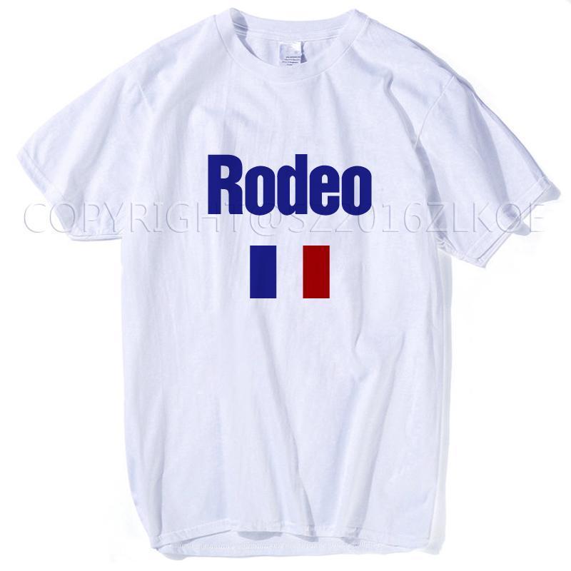 e53e2022 Not My First Rodeo Cowboy T Shirt 2018 Travis Scott Rodeo Paris Tour  Madness T Shirt Men's Cooling T Shirts