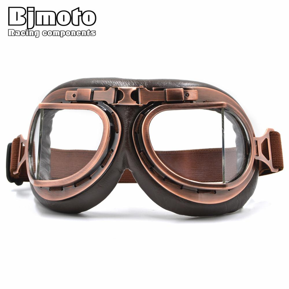 681e5a580f BJMOTO 2016 NEW WWII Vintage Harley Style Motorcycle Gafas Motocross ...