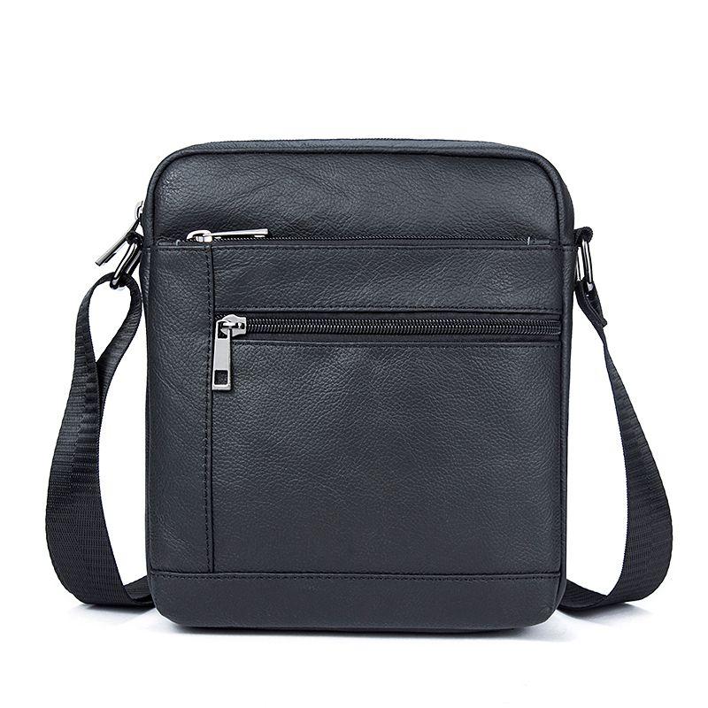 Genuine Leather Bag Men Messenger Bags Cell Phone Pocket Travel Shoulder  Crossbody Bags Business Small Male Bag Women Shoulder Bag Relic Purses Fashion  Bags ... 754672b448318
