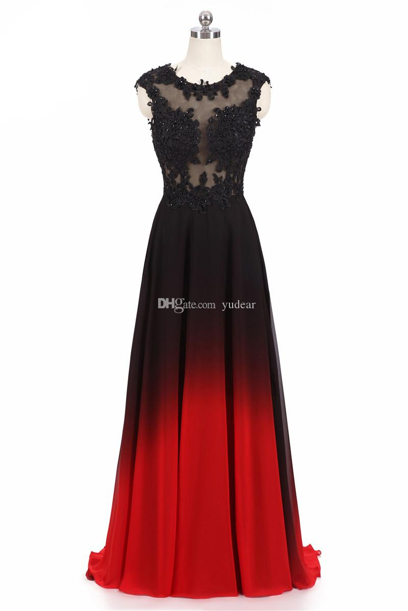 Vintage Jewel Sheer Neck 2019 Prom Dresses Charming Lace Appliques A-line Sweep Train Mother Dresses of Brides Lace Up Evening Banquets Gown