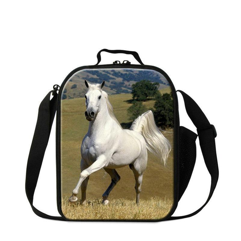 Fashion 3D Horse Print School Children Toddlers Small Lunch Box Bags  Insulated Lunch Cooler Food Tote For Teenagers Men Office UK 2019 From  Dispalang shop 60cef4054e1e