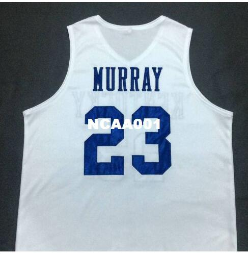 1e319c14c18 2019 Men  23 JAMAL MURRAY Kentucky Wildcats White College Vintage Jersey  Size S 4XL Or Custom Any Name Or Number Jersey From Ncaa001