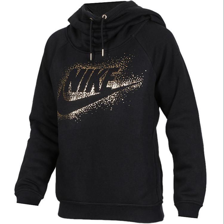 d3d07adad5253d 2019 2019 Womens Sweater Designer Jacket Autumn And Winter Round Neck  Sweater Black Plus Velvet Brand High Quality Hoodies Size S XL From Popooj