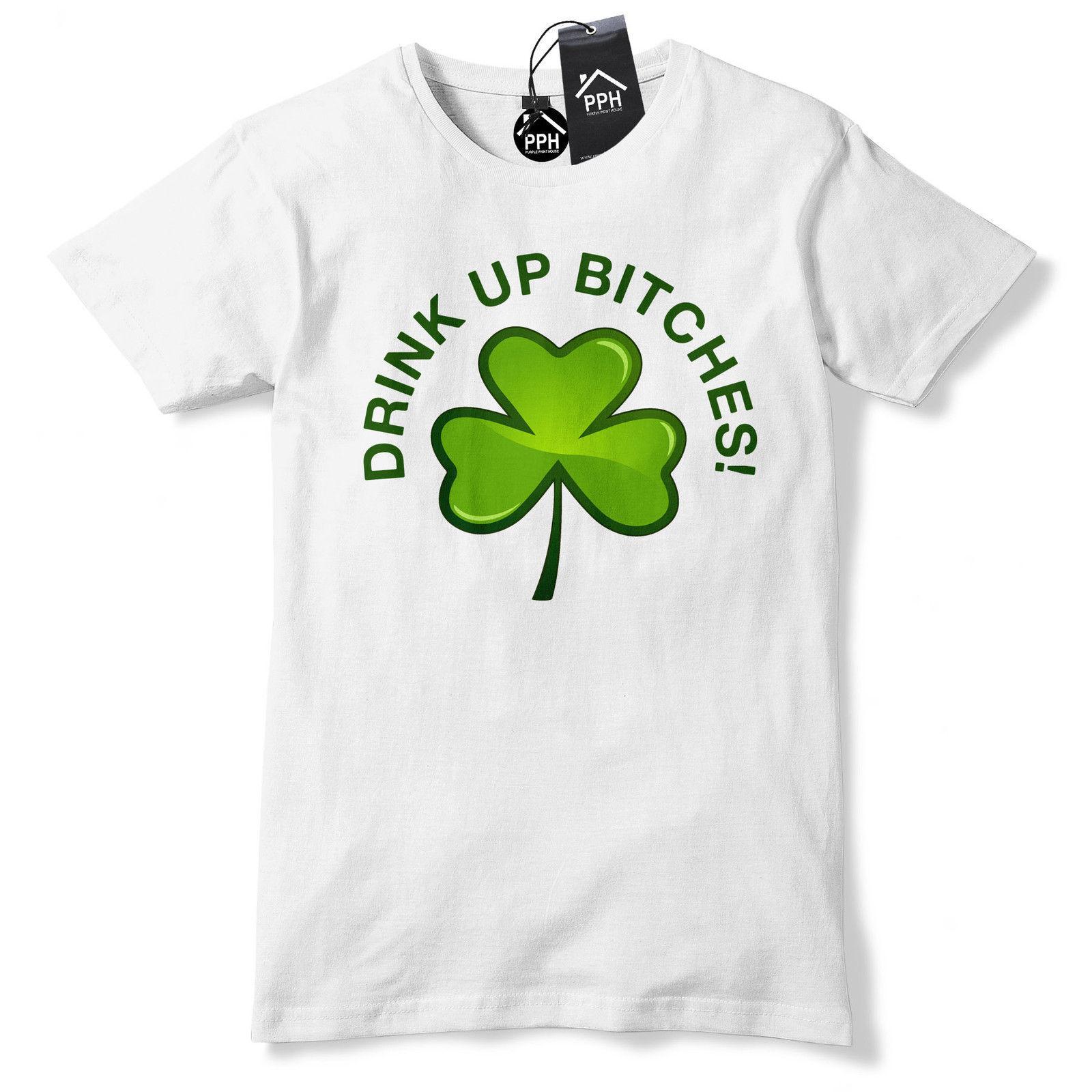c777cc51b Drink Up B*tches Guinness Ireland Irish Tshirt St Patricks Day T Shirt  Tshirt P6 Cheap Funny T Shirts Cheap T Shirt From Beidhgate08, $11.01|  DHgate.Com