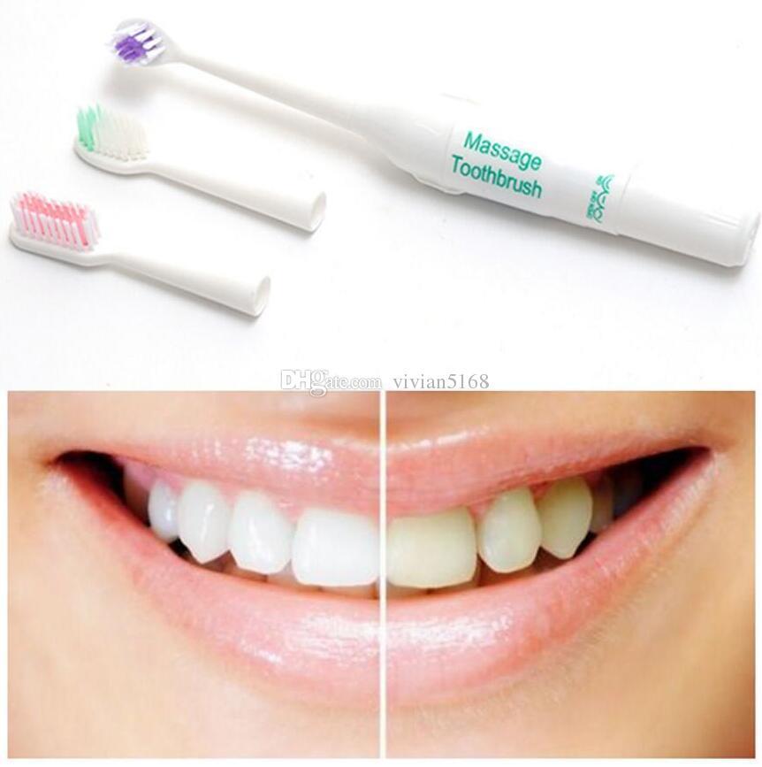Brosse à dents ultrasonique électrique intelligente Seago Sonic Super doux blanchissant la brosse à dents automatique pour l'hygiène orale adulte avec 3 TÊTES
