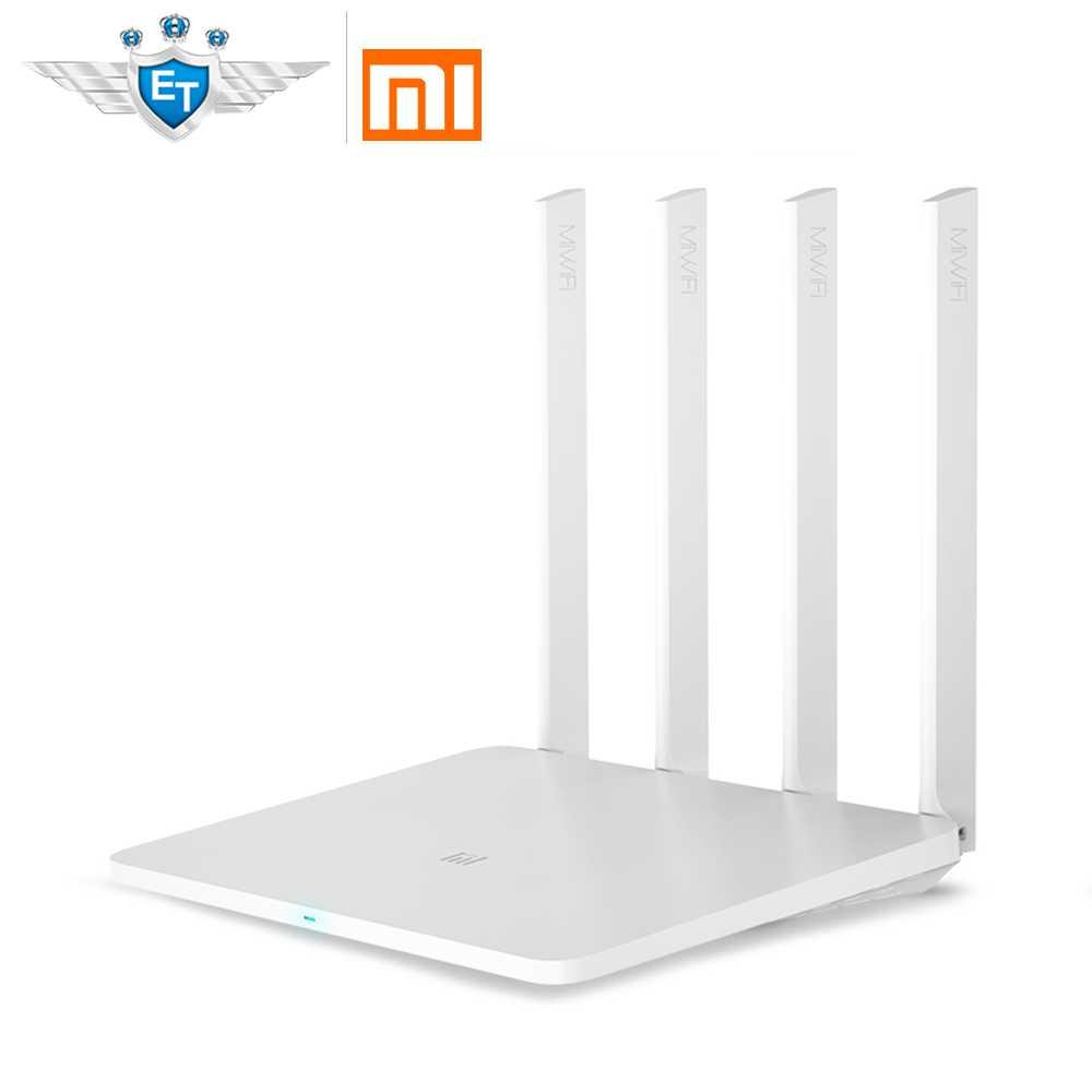 Original Xiaomi Router 3g Wifi 24g 5g 1167mbps 256mb 80211ac With Extender Reapeter 4 Antennas 128mb Flash Usb30 Network Repeater