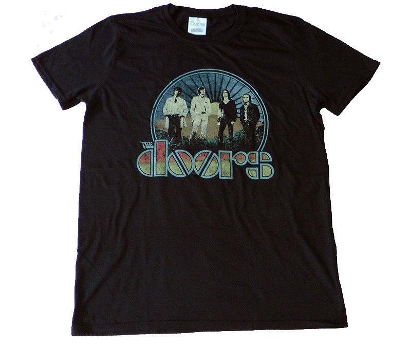 40674cc8383 THE DOORS Vintage Field Official T Shirt MEN MEDIUM
