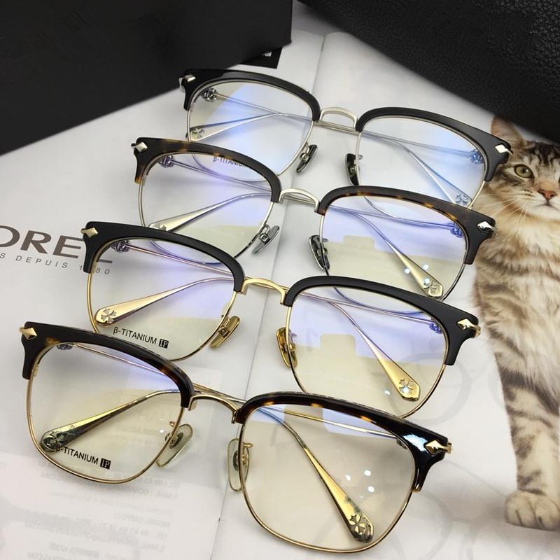 a34afe7e4839e Men Chrome SUINTRADICTION Black Gold Optical Eyewear Eyeglasses Half Frame  Fashion Eyeglass New with Box Eyeglasses Glasses Eyeglasses Half Frame  Online ...